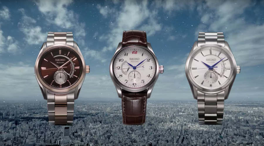 4 reasons to enjoy from the new Seiko Presage automatic.