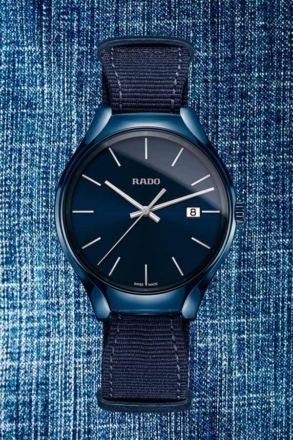 Reloj Rado en azul para hombre, San Valentín.