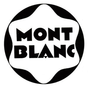 Logo Motblanc de 1930.
