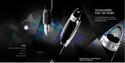 Montblanc Soulmakers for 100 years.