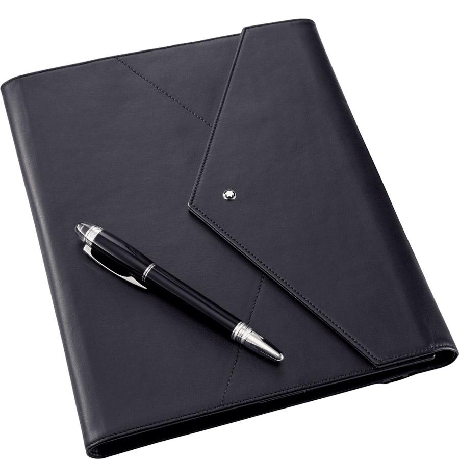 Montblanc Augmented Paper, en negro. Escritura digital.