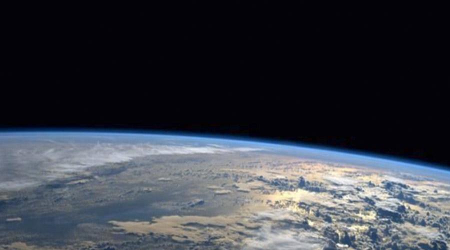Vista del planeta Tierra desde la Estación Espacial.