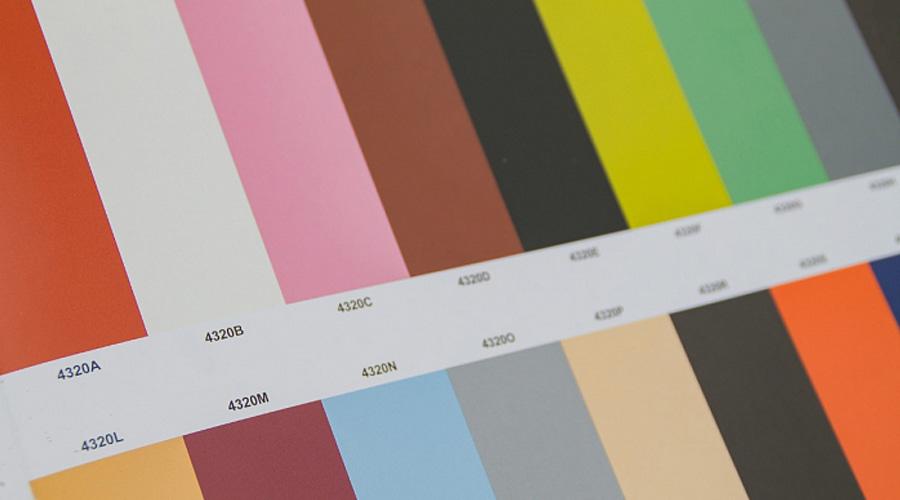 Paleta de colores utilizada por Le Corbusier.