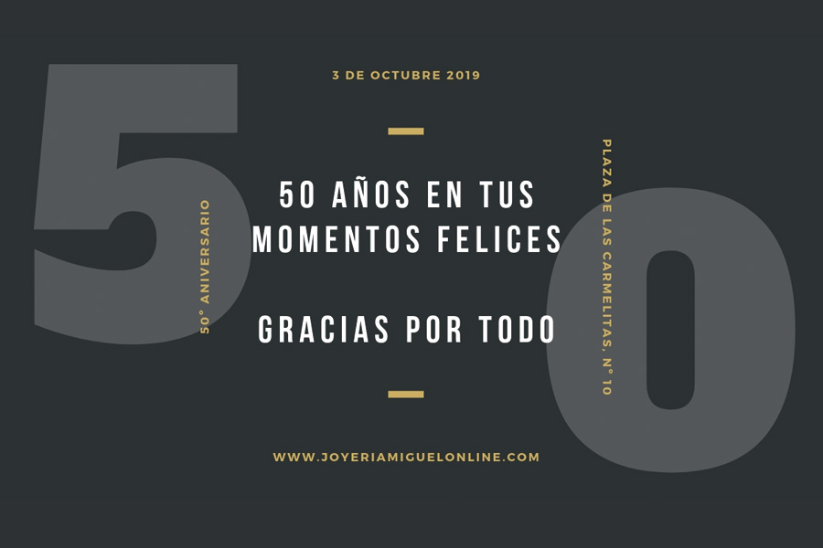 50 years in your happy moments.